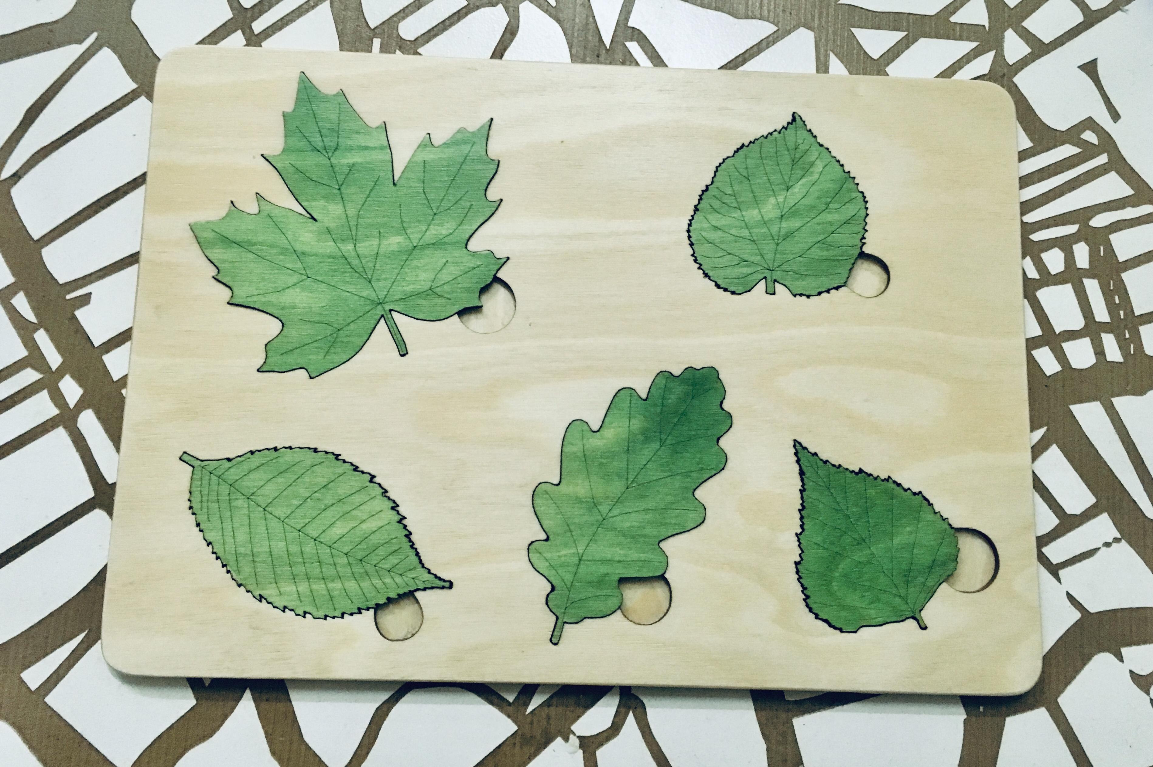 Výroba dřevěných vkládaček ( Montesori )