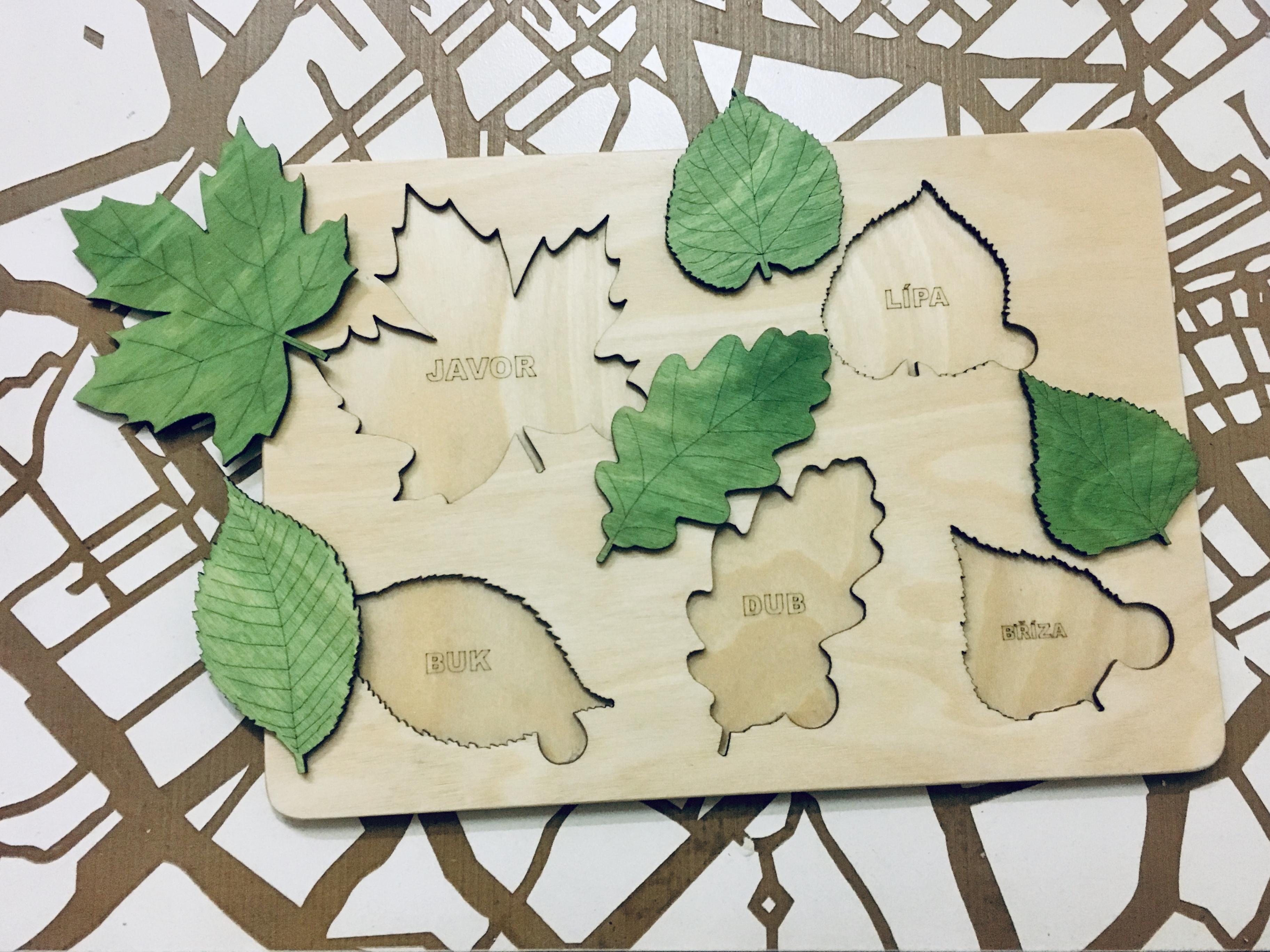 Výroba dřevěných vkládaček. ( Montesori )