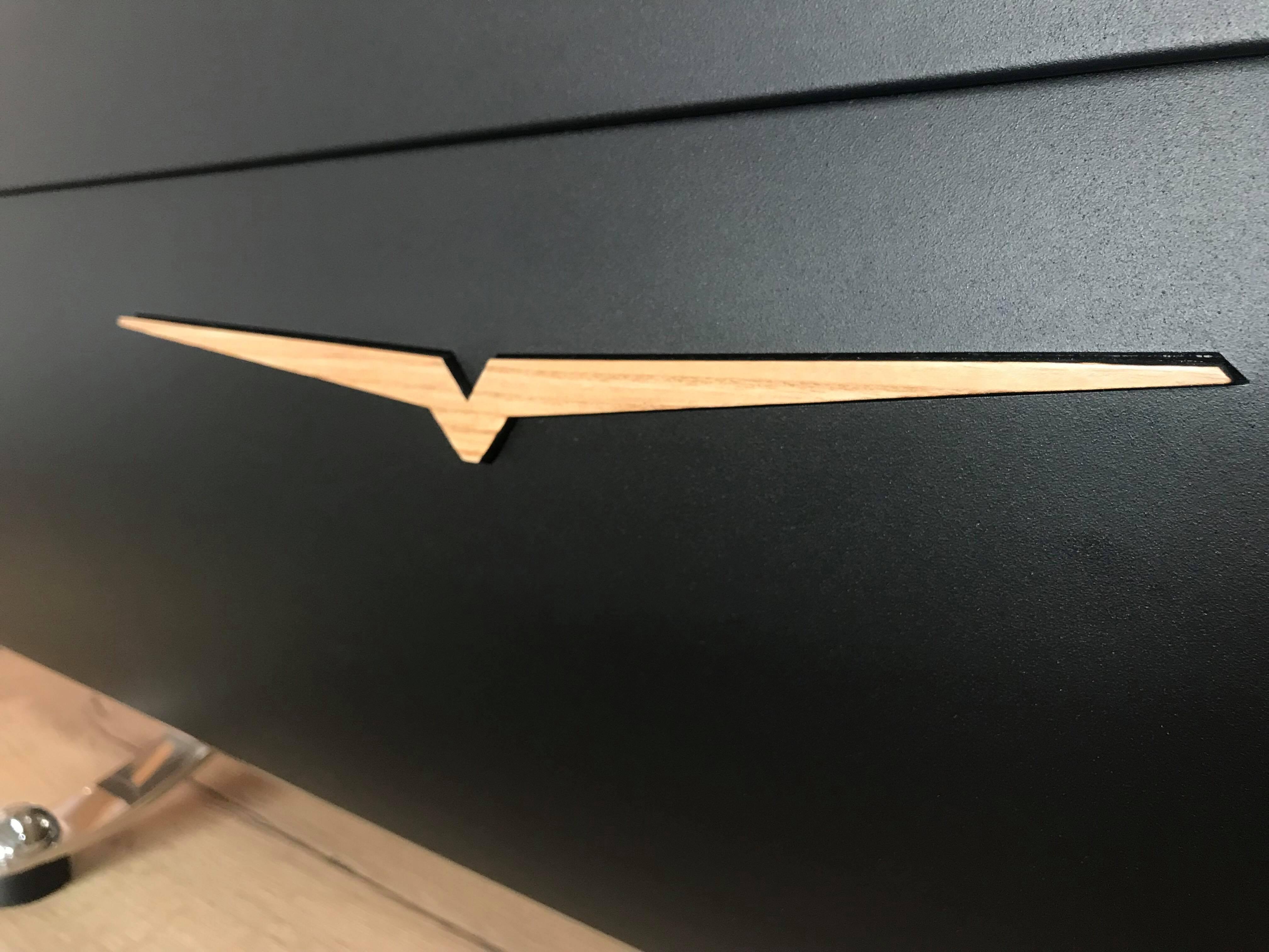 Dřevěné logo pro kávovar Victoria arduino