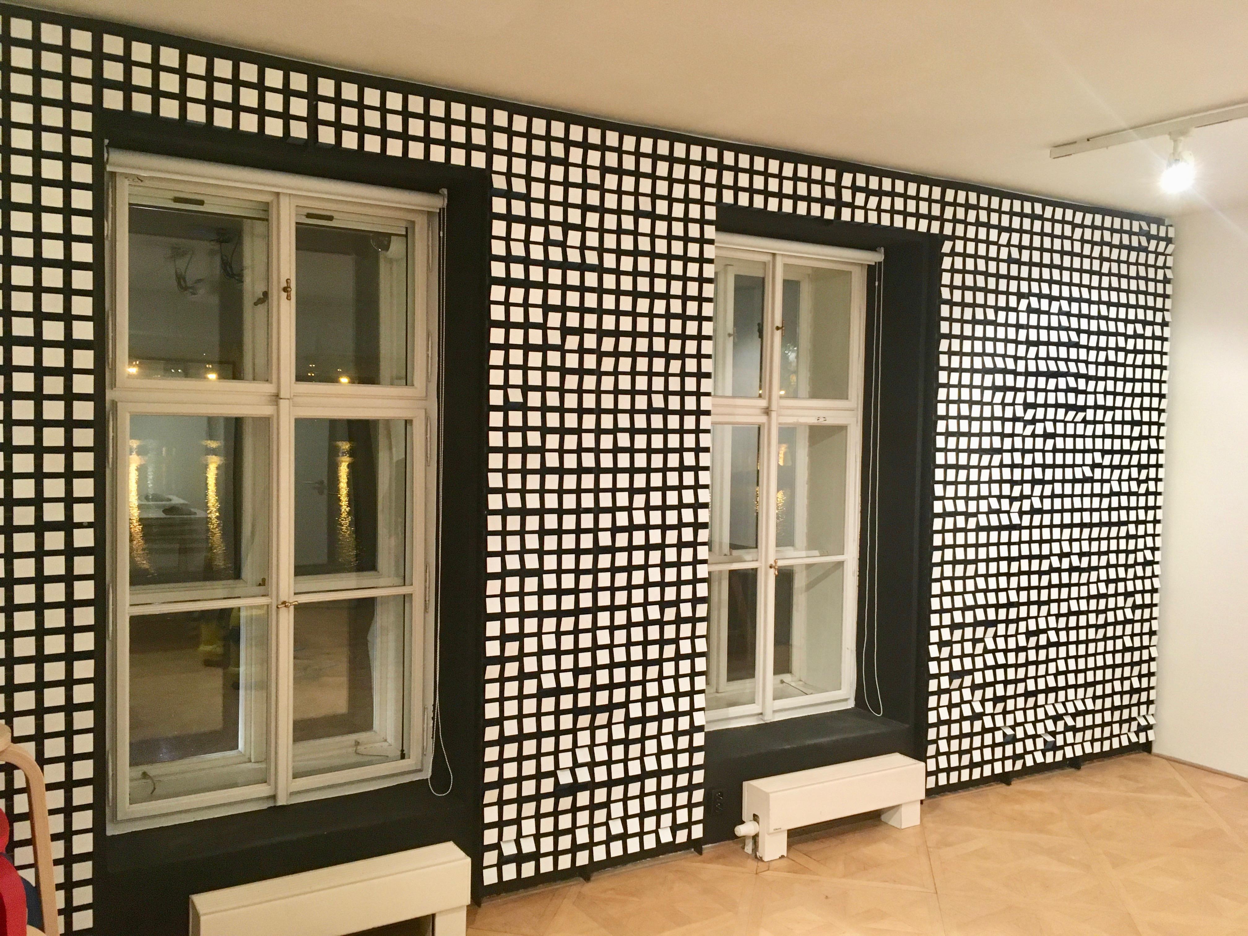 Interaktivní stěna , zakázová výroba, umění,