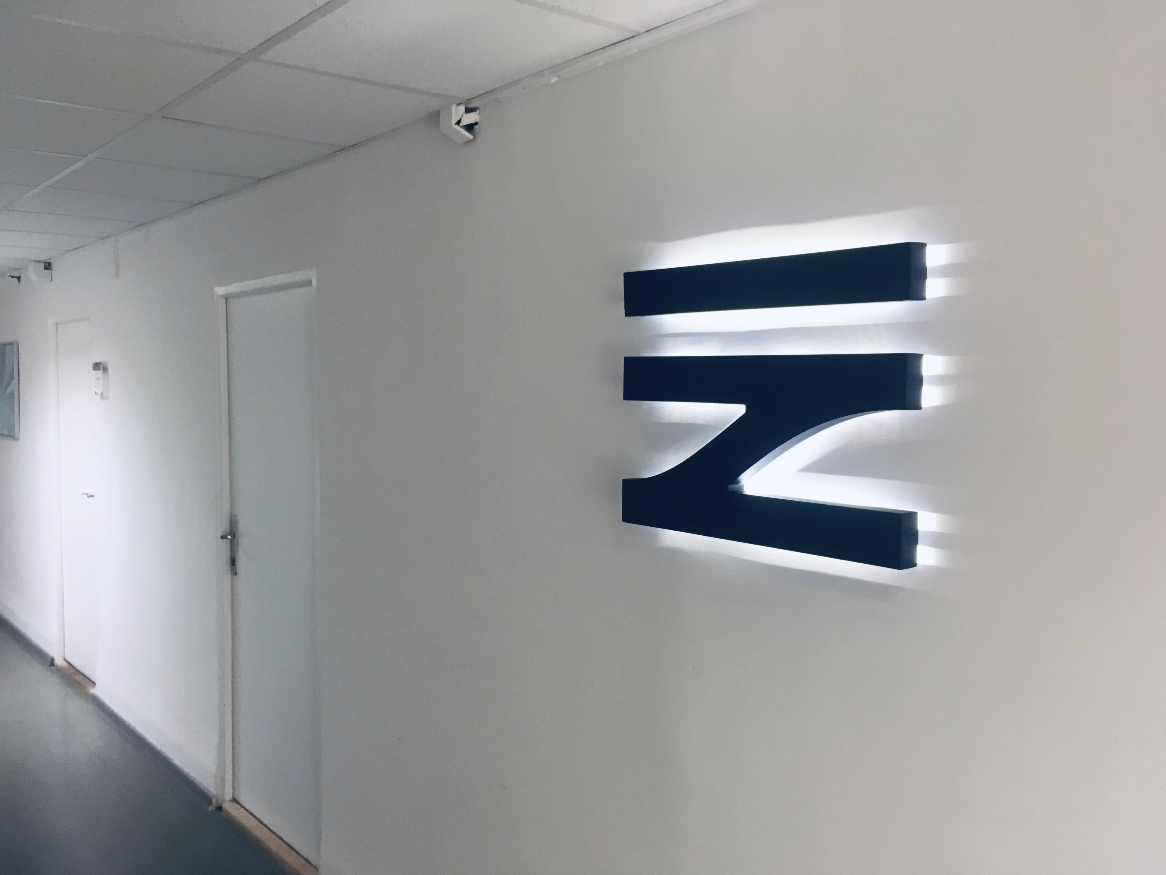 Podsvícené logo
