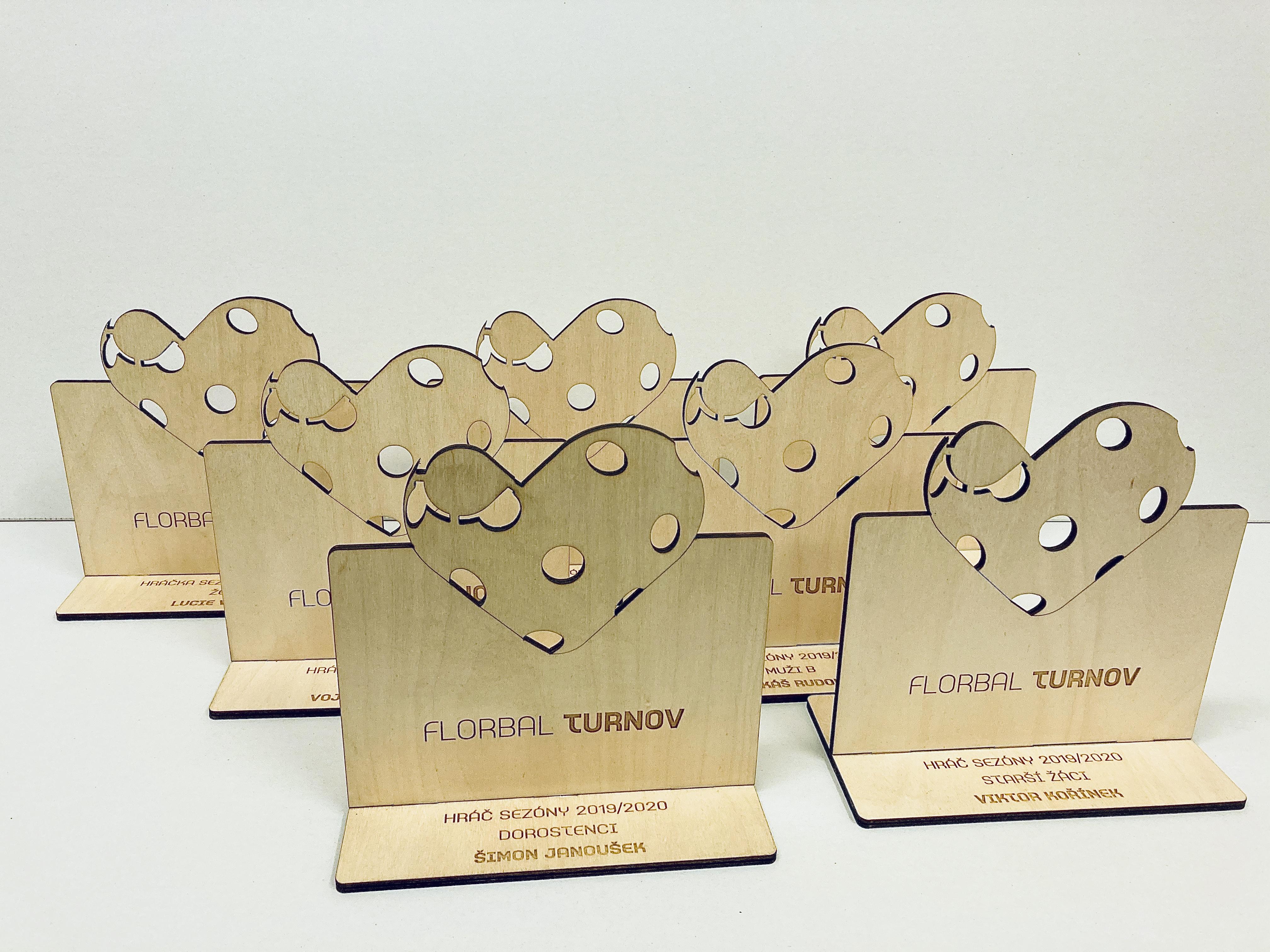 Dřevěné trofeje, výroba trofejí